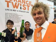Bar is open at the Holland stand at The Meetings Show UK 2016